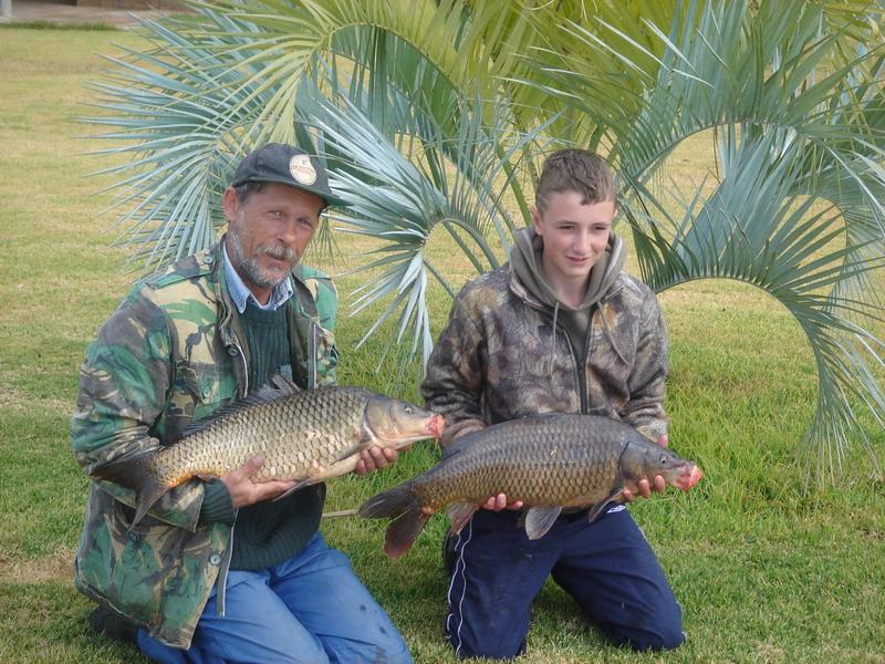 Carp fishing in South Africa